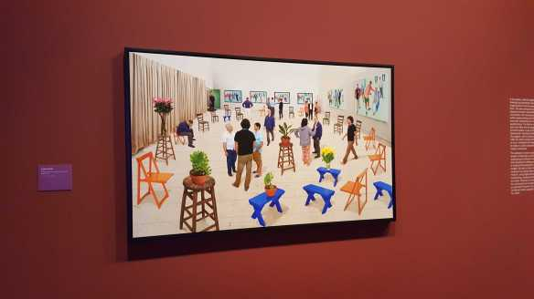 31 David Hockney Current Exhibition at National Gallery Victoria Nov2016 Photographed by Karen Robinson