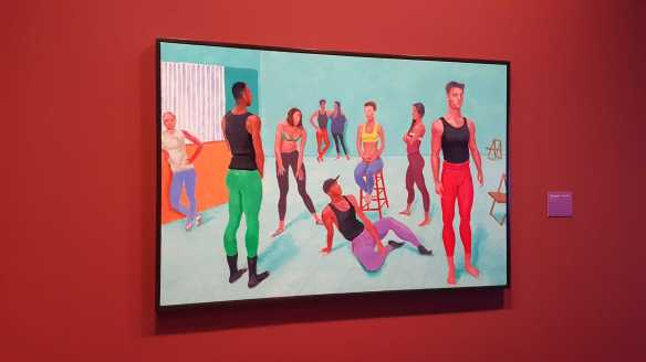 32 David Hockey Current Exhibition at National Gallery Victoria Nov2016 Photographed by Karen Robinson
