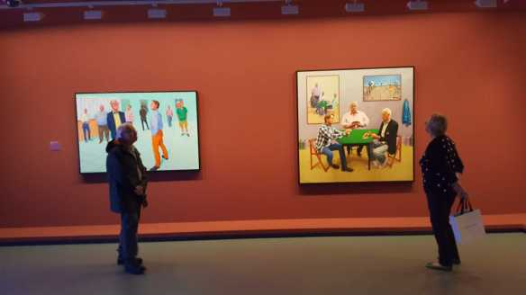33 David Hockney Current Exhibition at National Gallery Victoria Nov2016 Photographed by Karen Robinson