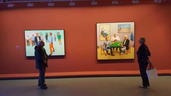 33 David Hockney Current Exhibition at National Gallery Victoria Nov2016 Photographed by Karen Robinson