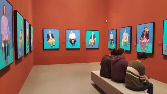 34 David Hockney Current Exhibition at National Gallery Victoria Nov2016 Photographed by Karen Robinson