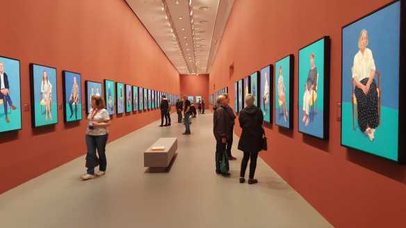 35 David Hockney Current Exhibition at National Gallery Victoria Nov2016 Photographed by Karen Robinson