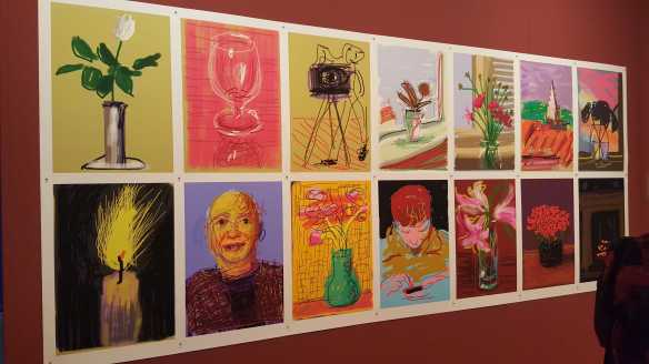 4 David Hockney Current Exhibition at National Gallery Victoria Nov 2016 Photographed by Karen Robinson