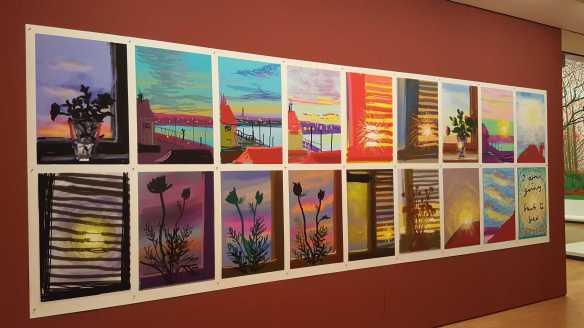 5 David Hockney Current Exhibition at National Gallery Victoria Nov 2016 Photographed by Karen Robinson