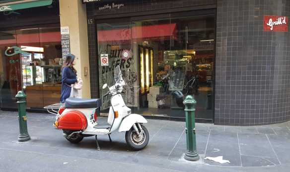 7 of 10 Near corner of Centre Places and Flinders Lane,, Australia - Photograph taken by Karen Robinson Oct 2016 NB All images are protected by copyright laws