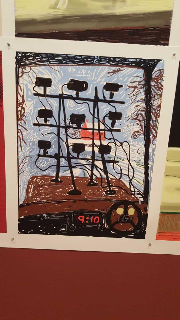 9 David Hockney Current Exhibition at National Gallery Victoria Nov 2016 Photographed by Karen Robinson