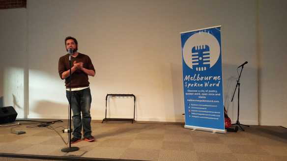 No. 9 The 2016 Melbourne Spoken Word Prize Event held at 75 on Reid Street, Fitzroy North - Photographed by Karen Robinson
