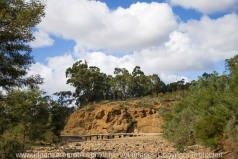 Lerderderg, Victoria - Australia 'Mackenzies Flat Picnic Area - Lerderderg State Forest'_Lerderderg River bed completely dry! Photographed by ©Karen Robinson_www.idoartkarenrobinson.com - Feb 2017