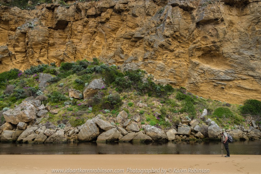 The Great Ocean Road Region, Victoria - Australia_Photographed by Karen Robinson November 2017 www.idoartkarenrobinson.com Comments: My Hubby and I joined a group of enthusiastic Craigieburn Camera Club Photographers on a Three-Day Trip along the Great Ocean Road and Regional areas - to take photographs of wide oceans, sunrises, sunsets, significant coastal landmarks, waterfalls, wildlife and rural bushlands. Featuring views around Point Ronald - Princetown - 60 to 60 m high calcarenite bluffs on the Gellibrand River.