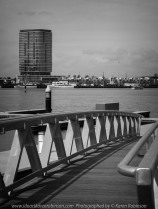 """Melbourne, Victoria - Australia """"Docklands Waterfront"""" Photographed by Karen Robinson NB Copyright Protected www.idoartkarenrobinson.com December 17, 2017. Comments: Out-and-about early Sunday morning photographing scenes around the Yarra River Harbour water's edge at Docklands."""