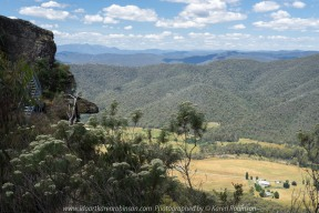 Whitlands, Victoria - Australia 'Powers Lookout' Photographed by Karen Robinson Dec 2017 www.idoartkarenrobinson.com NB. All images are protected by copyright laws. Comments: Here we had the opportunity to experience incredible views across the King River Valley. Featured to the left side of the photograph a set of stairs which led up and around to where the lookout is situated.