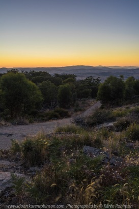 Strathbogie, Victoria - Australia 'Mount Wombat Lookout Region' Photographed by Karen Robinson March 2018 NB. All images are protected by copyright laws. Comments - Hubby and I travelled up to the lookout to photograph the sunrise which included amazing views looking out from around the towers. Also managed to capture some lovely photographys on our