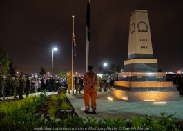 Craigieburn, Victoria - Australia 'ANZAC Dawn Service' Photographed by Karen Robinson April 2018 NB. All images are protected by copyright laws. Comments - For the last three years Craigieburn Camera Club have assisted by taking photos which are donated to the RSL to share with the community. Many local community members were there at 6am Craigieburn ANZAC Park for the Dawn Service - alongside of those who had/have families give their service to their country - Lest we forget...