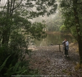 Hesket, Victoria - Australia 'Sanatorium Lake' Photographed by Karen Robinson May 2018 NB. All images are protected by copyright laws. Comments: An afternoon drive to see this man-made lake, famous for its intense reflections and during the 19th century, the cool climate of the Macedon region was thought to provided a perfect environment for patients suffering tuberculosis. A very cool afternoon, where fine mist filtered through the lush green vegetation creating a mystical atmosphere. Featuring Karen Robinson taking photographs.