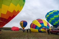 Milawa, Victoria - Australia 'King Valley Balloon Festival Sunrise' Photographed by Karen Robinson June 2018 NB. All images are protected by copyright laws. Comments - Sunrise Balloon Mass Ascension at Brown Brothers Milawa airfield on a not so sunny early morning. Hubby and I had the chance to walk around and experience the ascension close-up!