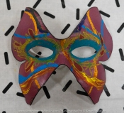 Red Hill South, Victoria - Australia 'BEHIND THE MASK - Creative Activity' Photographed by Karen Robinson July 2018. Comments: Creative Activity ran by Karen Robinson for Road Trauma Support Services at it's RTSSV State Education Team Gathering 2018 at Iluka Retreat & Camp. Team members including Karen whom stayed on the Saturday night at Iluka each created a portrait mask of themselves and then shared their creative portrait mask making endeavours.