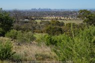 Greenvale, Victoria - Australia 'Gellibrand Hill Lookout' Photographed by Karen Robinson October 2018 Comments: Beautiful morning stroll spending a short time enjoying the panoramic views including Melbourne City Skyline, Melbourne Tullamarine Airport and the Great Dividing Range! Photograph featuring views towards Melbourne City Skyline.