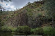 Bulla, Victoria - Australia 'Organ Pipes National Park' Photographed by Karen Robinson November 2018 Comments - Overcast with a pleasant bush walking temperature, the National Park provided hubby and I with beautiful nature scenic landscape views and a varying number of birds to photograph. Photograph featuring Organ Pipes Formation.