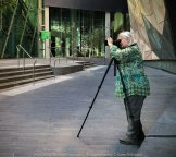 Melbourne, Victoria - Australia 'Hunt 'n' Shoot with CCClub in at Federation Square' Photographed by Karen Robinson February 2019 Comments: Our task as club photographers was to work with a theme being to find a shot with music, reflections, people, angles and movement. Photograph featuring Karen Robinson Photographer