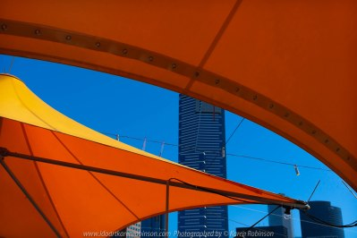Melbourne, Victoria - Australia 'Hunt 'n' Shoot with CCClub in at Federation Square' Photographed by Karen Robinson February 2019 Comments: Our task as club photographers was to work with a theme being to find a shot with music, reflections, people, angles and movement.