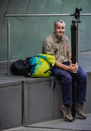 Melbourne, Victoria - Australia 'Hunt 'n' Shoot with CCClub in at Federation Square' Photographed by Karen Robinson February 2019 Comments: Our task as club photographers was to work with a theme being to find a shot with music, reflections, people, angles and movement. Featuring Hubby of Karen Robinson.