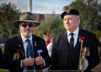 Craigieburn, Victoria - Australia 'ANZAC Day Ceremony Services' Photographed by Karen Robinson Comments - Representing Craigieburn Camera Club, Karen Robinson as one of the photographers at the event.
