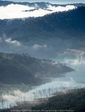 Devils River, Victoria - Australia 'Lake Eildon Region' Photographed by Karen Robinson June 2019 Comments - Views from Skyline Road looking out over towards Lake Eildon.