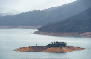 Eildon, Victoria - Australia 'Jerusalem Creek and Lake Eildon Region' Photographed by Karen Robinson July 2019 Comments: Rainy winter morning photographing Lake Eildon Region. Photograph featuring views from Foggs Lookout off Mt Pinniger Road - Eildon.