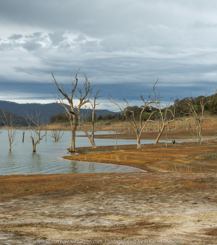 Bonnie Doon, Victoria - Australia 'Lake Eildon Region' Photographed by Karen Robinson July 2019 Comments: Lakeside views across Lake Eildon