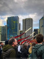 Docklands, Victoria - Australia 'Marvel Stadium area and Southern Cross Railway Station area' Photographed by Karen Robinson August 2019 Comments - I decided to do some Street Photography on my iPhone as we came out of the Stadium and headed towards the Railway Station to catch the train back home - lots of fun!