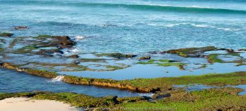 Portsea, Victoria - Australia 'Portsea Back Beach - Peninsula Beach and Ocean Views' Photographed by Karen Robinson August 2019. Comments: Photographs featuring rock pools