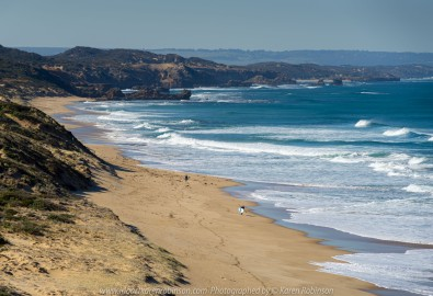 Portsea, Victoria - Australia 'Portsea Back Beach - Peninsula Beach and Ocean Views' Photographed by Karen Robinson August 2019