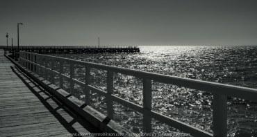 Portsea, Victoria - Australia 'Portsea Front Beach - Peninsula Views' Photographed by Karen Robinson August 2019. Comments: Photograph featuring Portsea Pier.