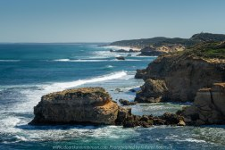 Sorrento, Victoria - Australia 'Jubilee Point on the Peninsula' Photographed by Karen Robinson August 2019 Comments - Amazing rock formations and panoramic coastline views either side of the point.
