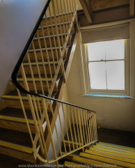Ballarat, Victoria - Australia 'Stairs Photo Set' Photographed by Karen Robinson September 2019 Comments - During our visit to all the different locations of the Ballarat's 'International Foto Biennal' I decided to take some photographs of stair- wells featured within some of Ballart's historical buildings. We had to climb most of them! Photograph featuring Ballarat's National Centre for Photography stairwell