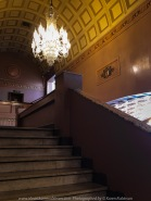 Ballarat, Victoria - Australia 'Stairs Photo Set' Photographed by Karen Robinson September 2019 Comments - During our visit to all the different locations of the Ballarat's 'International Foto Biennal' I decided to take some photographs of stair- wells featured within some of Ballart's historical buildings. We had to climb most of them! Photograph featuring Ballarat's Regent Cinemas stairwell.