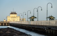 St. Kilda, Victoria - Australia 'Port Phillip Bay St. Kilda Pier' Photographed by Karen Robinson September 2019 Comments - Beautiful morning taking photographs of the St. Kilda Pier and Cafe