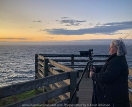 Summerlands, Victoria - Australia 'Sunrise and morning at South Point Lookout' Photographed by Karen Robinson February 2020 Comments - Karen Robinson taking Photographs