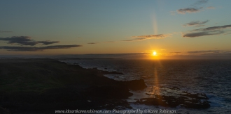 Summerlands, Victoria - Australia 'Sunrise and morning at South Point Lookout' Photographed by Karen Robinson February 2020 Comments - Sunrise over the ocean