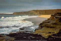 San Remo, Victoria - Australia 'Black and Bore Beach at Sunrise' Photographed by Karen Robinson Comments: Early morning at sunrise as the tide was going out.