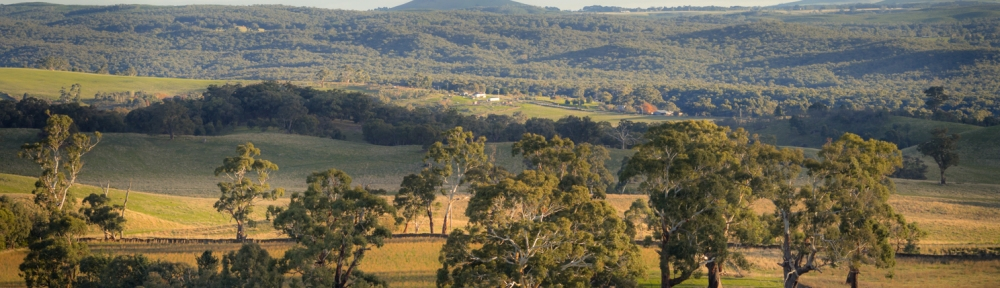 """Daylesford Region, Victoria - Australia """"View from Mount Franklin""""_ Photographed by ©Karen Robinson June 2017. Comments: Hubby and I visiting the region to take photographs on this beautiful, fresh winter's day."""