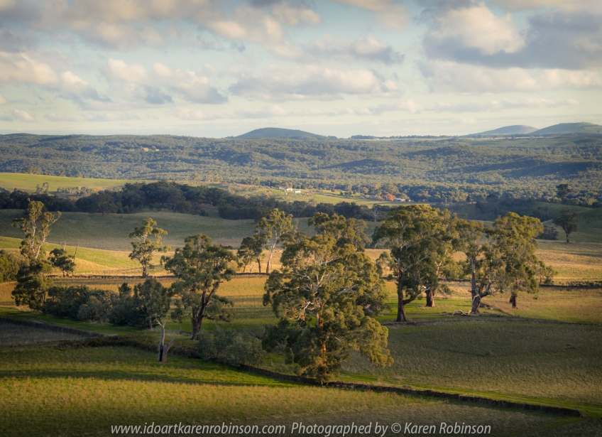 "Daylesford Region, Victoria - Australia ""View from Mount Franklin""_ Photographed by ©Karen Robinson June 2017. Comments: Hubby and I visiting the region to take photographs on this beautiful, fresh winter's day."