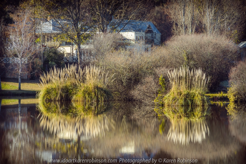 Daylesford, Victoria - Australia 'Lake Daylesford Region' Photographed by Karen Robinson June 2020 Comments - Beautiful Winter day photographing lake reflections.