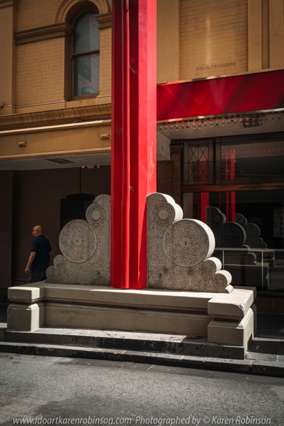 Melbourne, Victoria - Australia 'Little Bourke Street' Photographed by Karen Robinson Jan 2021 Comments: Decided to venture into the City of Melbourne - Chinatown on Little Bourke Street to do some Street/Documentary Style Photography.