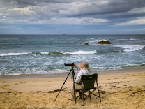 Sorrento, Victoria - Australia 'Sorrento Back Beach' Photographed by Karen Robinson March 2021 Comments: Morning visit to Sorrento Back Beach capturing images of beach lovers enjoying their morning with family and friends. Photograph featuring Karen Robinson Photographer
