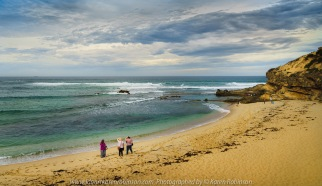 Sorrento, Victoria - Australia 'Sorrento Back Beach' Photographed by Karen Robinson March 2021 Comments: Morning visit to Sorrento Back Beach capturing images of beach lovers enjoying their morning with family and friends.